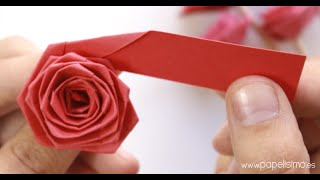 How to make quilling rose flowers paper quilling rose free download cmo hacer rosas con una tira de papel tipo quilling papelisimo 22028037 download how to make a paper flowers video mightylinksfo