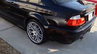 Download 2005 BMW M3 e46 6 speed manual for sale walk around vs C5 Vette Cammed vs Yamaha R1 = SOLD! Video