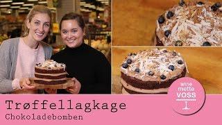 Download TRØFFELLAGKAGE ″Chokoladebomben″ med Frederikke Wærens i Annemettes Bageskole | Annemette Voss Video