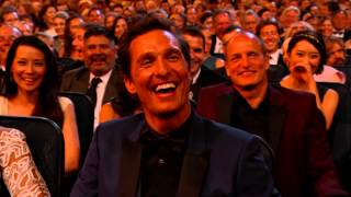 Download Kimmel Ribbing McConaughey Emmys 2014 Video