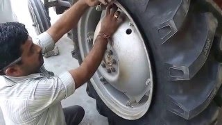 Download Tractor Tyre Changing Video - Do-It-Yourself Video