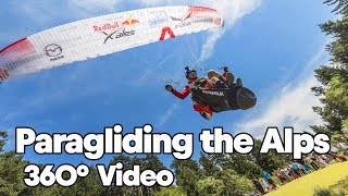 Download Paragliding Over the Alps with Paul Guschlbauer | 360° Video (in 4K!) Video