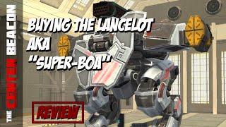 Download War Robots | Buying the Lancelot aka ″Super Boa″ Video