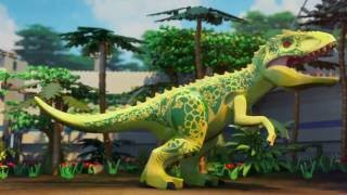 Download The Indominus Escape - LEGO Jurassic World Mini Movie - Part 3 Video