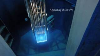 Download Breazeale Nuclear Reactor Start up, 500kW, 1MW, and Shut Down Video