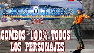 Download KOF 2002 100% Death Combos All characteres By K' Will 2019 Video