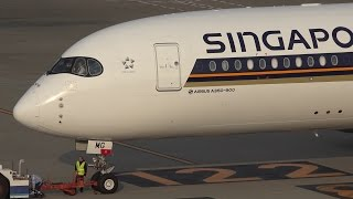 Download Singapore Airlines Airbus A350-900 9V-SMG Pushback and Takeoff [HND/RJTT] Video