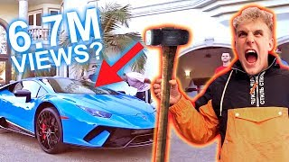 Download SMASHING MY LAMBORGHINI WINDSHIELD!! Video