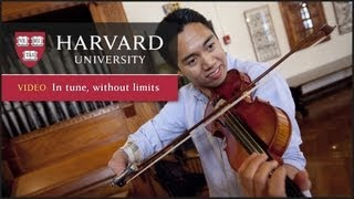 Download One-handed violinist combines art and teaching Video