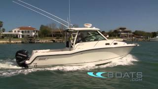 Download 2012 Boston Whaler 315 Conquest Boat Review / Performance Test Video