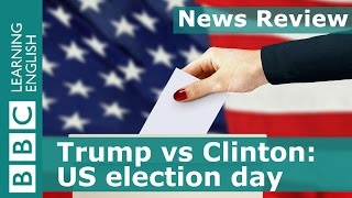 Download BBC News Review: Trump vs Clinton - US election day Video