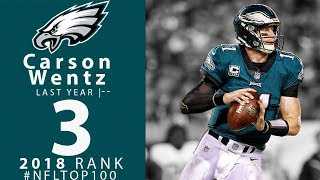 Download #3: Carson Wentz (QB, Eagles) | Top 100 Players of 2018 | NFL Video