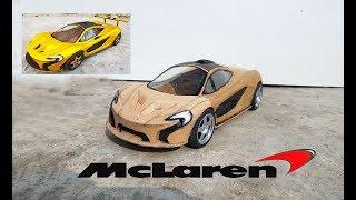 Download How to make RC Mc Laren || DIY || Cardboard Mc laren P1|| How to make electric toy car Video