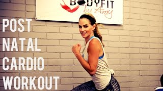 Download 20 Minute Post Natal Cardio Workout For After Pregnancy Video
