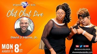 Download Diamond and Silk ″Chit Chat Live″ | August 13, 2018 | Guest, David J. Harris, Jr. Video