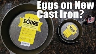 Download How to Cook an Egg in a New Cast Iron Skillet Without It Sticking Video