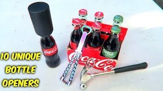 Download 10 Weird Bottle Openers put to the Test Video