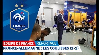 Download Les coulisses de France-Allemagne (2-1), Equipe de France I FFF 2018 Video