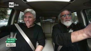 Download Dino Abbrescia e Diego Abatantuono - Milano-Roma In viaggio con i Gialappa's Video