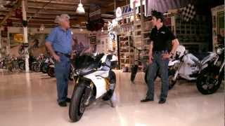Download Electric Motorcycle - Mission Motors Mission-R - Jay Leno's Garage Video