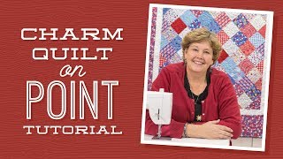 Download Make a Charm Quilt on Point with Jenny! Video