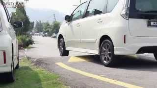 Download Perodua Alza Installed Vehicle Safety Bar by Ultra Racing Video