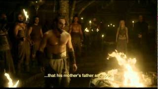 Download Game of Thrones - Khal Drogo Gift to Rhaego Video