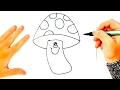 Download Cómo dibujar una Seta para niños | Dibujo de Seta paso a paso Video