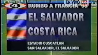 Download El Salvador [2] vs Costa Rica [1] : 5.4.1997 : WCQ1998 Video