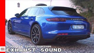 Download Exhaust Sound - 2018 Panamera Turbo S E-Hybrid Sport Turismo Video