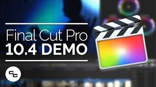 Download Final Cut Pro X 10.4 Demo - Big Focus On Color Grading Video
