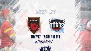 Download USL LIVE - Phoenix Rising FC vs Rio Grande Valley FC 10/7/17 Video