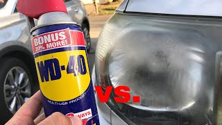 Download The TRUTH about WD 40 vs Headlights! Video