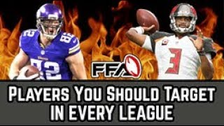 Download Players You Should Target IN EVERY LEAGUE | 2018 Fantasy Football Video
