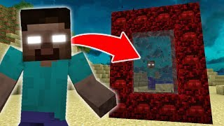 Download How to Make a Portal to the HEROBRINE Dimension in Minecraft Video