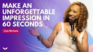 Download The S.N.A.A.P. Technique: How To Make An Unforgettable Impression In 60 Seconds | Lisa Nichols Video