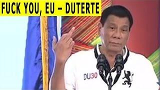 Download Philippinischer Präsident beschwert sich bei Putin über USA & EU (Hurensohn Obama, Fuck you EU) Video