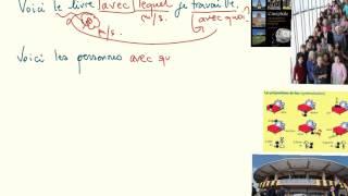 Download Pronoms relatifs simples et composes avec prepositions Video