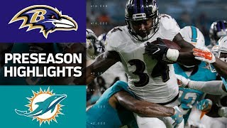 Download Ravens vs. Dolphins | NFL Preseason Week 2 Game Highlights Video