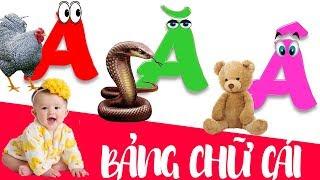 Download Dạy bé học chữ cái tiếng việt | giúp em học đọc bảng chữ cái abc | dạy trẻ thông minh sớm Video