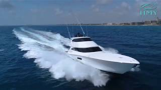 Download Miss Moneypenny - 2017 Viking Yachts 92' Enclosed Bridge - Custom Aft Deck Video