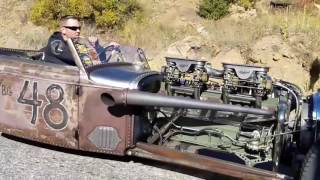 Download Nick's Hot Rod Garage Central City Hot Rod Hill Climb 2016 Pre Race Parade Lap Video