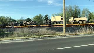 Download Tanks on a Train Video