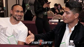 Download MIKEY GARCIA TO KEITH THURMAN ″IF I MOVE UP TO 147, IM GOING FOR YOU!″ Video