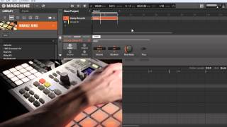 Download Maschine Tutorial - Playing sounds with a MIDI controller Video