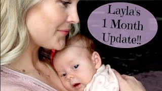 Download Layla's 1 Month Update!! Video