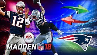 Download BRADY LEAVES THE PATRIOTS! TRADE EVERY PLAYER CHALLENGE! | MADDEN 18 REBUILD CHALLENGE Video