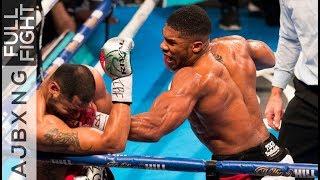 Download Full Fight | AJ Vs Eric Molina TKO Video