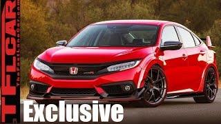 Download TFL Exclusive: 2018 Honda Civic Type R Interior Revealed Video