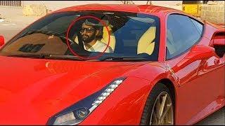 Download Actor Naga Chaitanya's Ferrari 488 GTB / Hyderabad / India Video